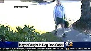 San Marino Mayor Caught On Camera Throwing Dog Feces On Neighbor's Walkway