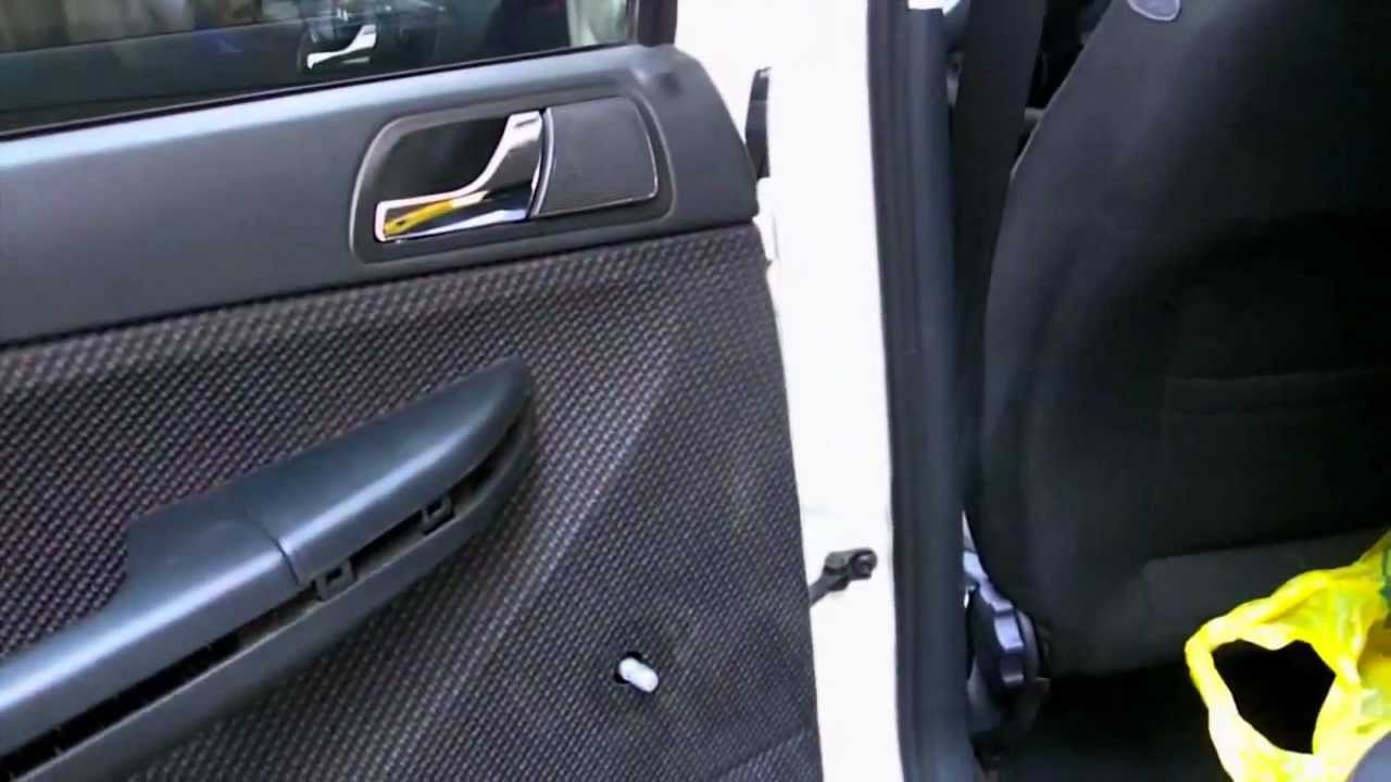 Skoda Fabia Door Seals Fix Youtube