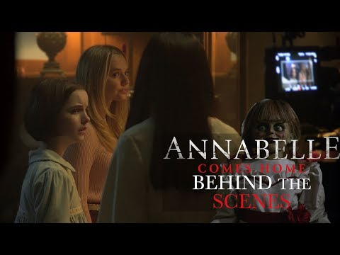 'Annabelle Comes Home' Behind the Scenes