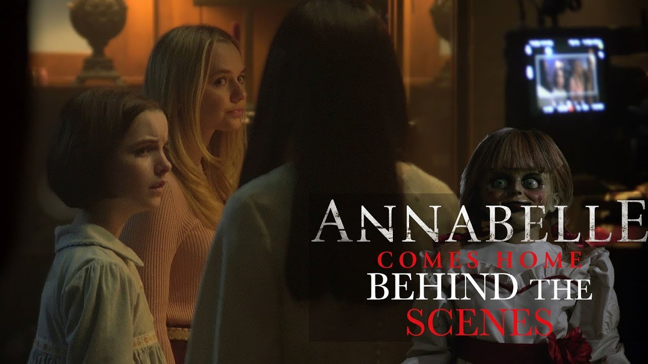 Annabelle Comes Home Behind The Scenes Youtube