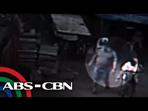 TV Patrol: Pamamaril sa barangay chairman sa Caloocan, sapul sa CCTV