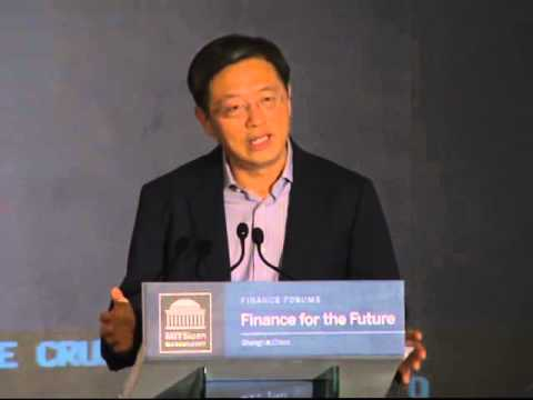 Finance for the Future Shanghai 2013: Keynote with Tu Guangshao