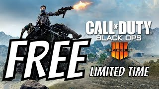 """Call of Duty Black Ops 4 Blackout FREE TO PLAY 2019 """"PS Plus Required"""""""