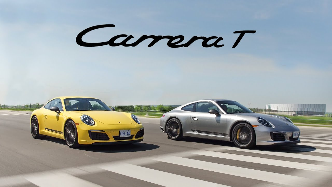 2018 Porsche 911 Carrera T Manual Vs Pdk Review The Purist Porsche