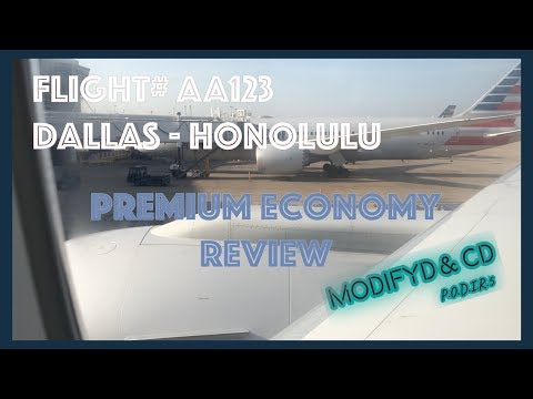 How Good Is American Airlines Premium Economy With Modifyd & CD