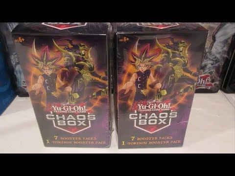 NEW Yugioh Mystery Boxes From Walmart! Chaos Box!