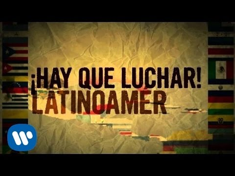 Maná - Latinoamérica  (Lyric Video)
