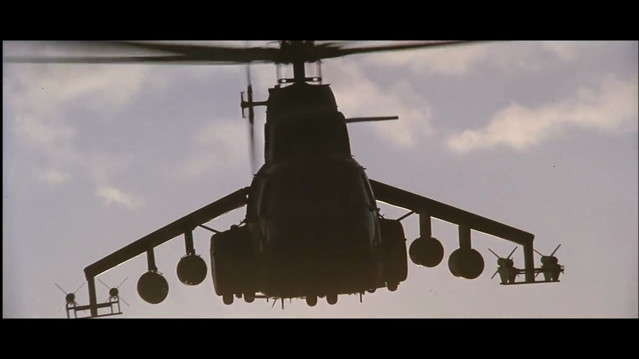 Rambo 3 Elicottero : Rambo ii helicopter attack short movie scene youtube