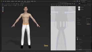 Level 1-8 Dress Pants_ 3 Make front zipper patterns