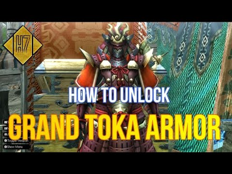 [MHXX/MHGU - INDO] Cara Dapetin Grand Toka Armor SAMURAI |