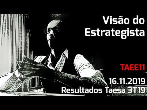 16.11.2019 - Visão do Estrategista - Resultados Taesa 3T19 - TAEE11
