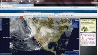 2/28/2012 --North America covered in severe weather & Scalar Square / HAARP ring outbreak