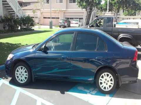 Hickam AFB Lemon Lot - 2004 Honda Civic LX LOW MILES - Hickam AFB