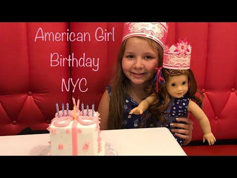 American Girl Birthday Party New York City - American Girl Doll Salon - American Girl Doll Birthday