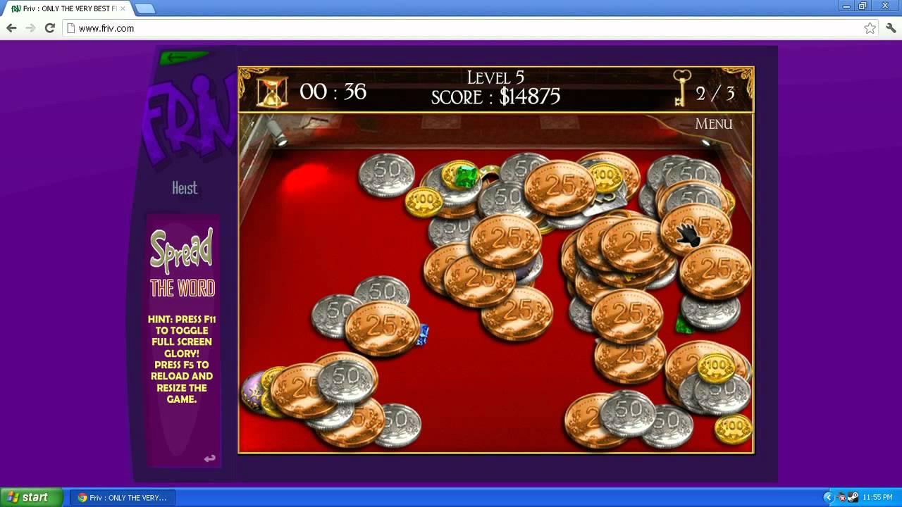 Heist Coin Game