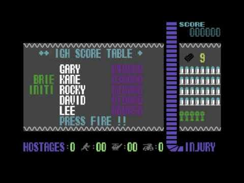 Operation Wolf Title Music for the Commodore 64