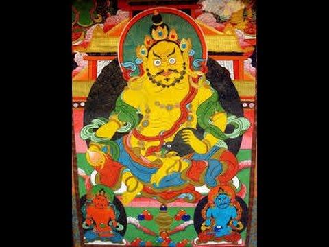 黃財神心咒旋律2(the Yellow Jum bala's mantra, in melody 2 style)(adam - 152) - YouTube
