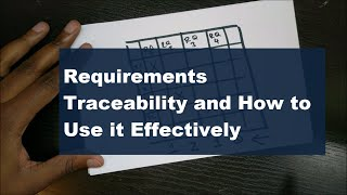 What is Requirements Traceability and When Does It Matter? - Quick and Simple