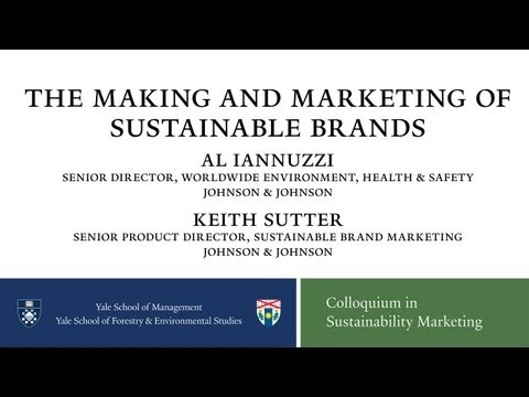 Johnson & Johnson:The Making and Marketing of Sustainable Products