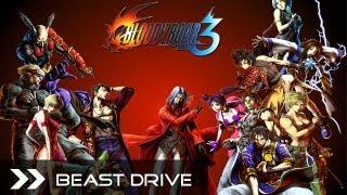 Bloody Roar 3 - All Character Beast Drives (+Uranus and Kohryu) HD 1080p PCSX2 PS2