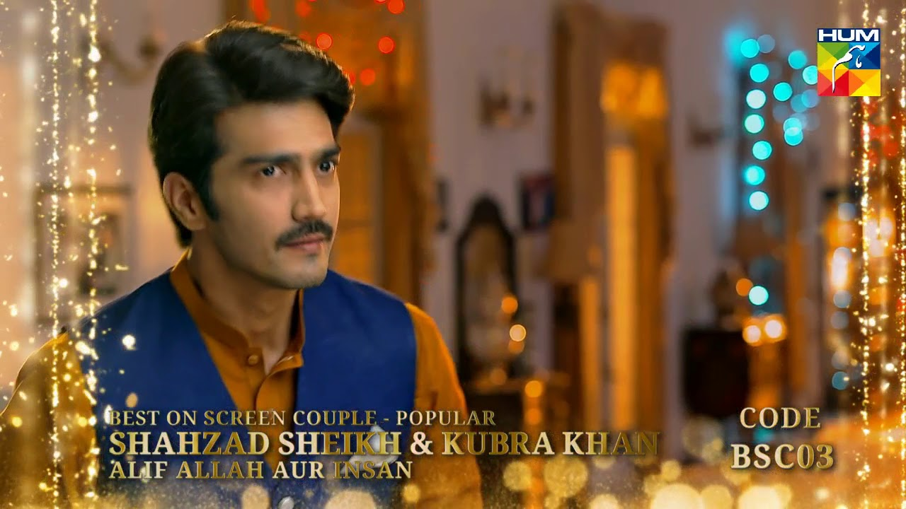 Kashmir 6th HUM Awards 2018 | Viewer's Choice Award | Best On Screen Couple - Popular