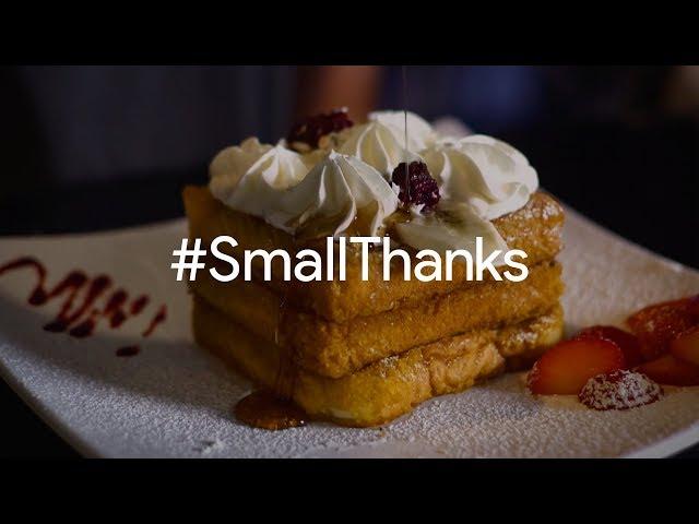 #SmallThanks for Cafe Kacao | Google