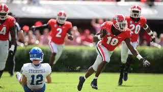 Legge's Thoughts: No. 3 Georgia Looks Strong