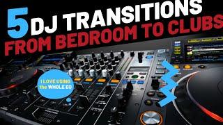 DJ Transitions - Different Types of DJ Transitions