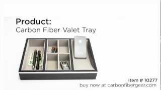 Carbon Fiber Valet Tray