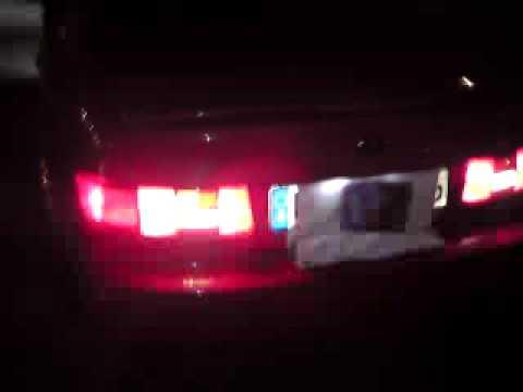Paseo L5 Beleuchtung Klarglasscheinwerfer Blinker Rückleuchten Modifizieren  US Style