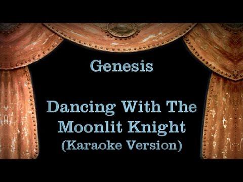 Genesis - Dancing With The Moonlit Knight - Lyrics (Karaoke Version)