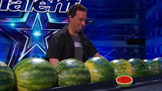 America's Got Talent 2015 S10E06 Trizzie D and More World Record Attempts