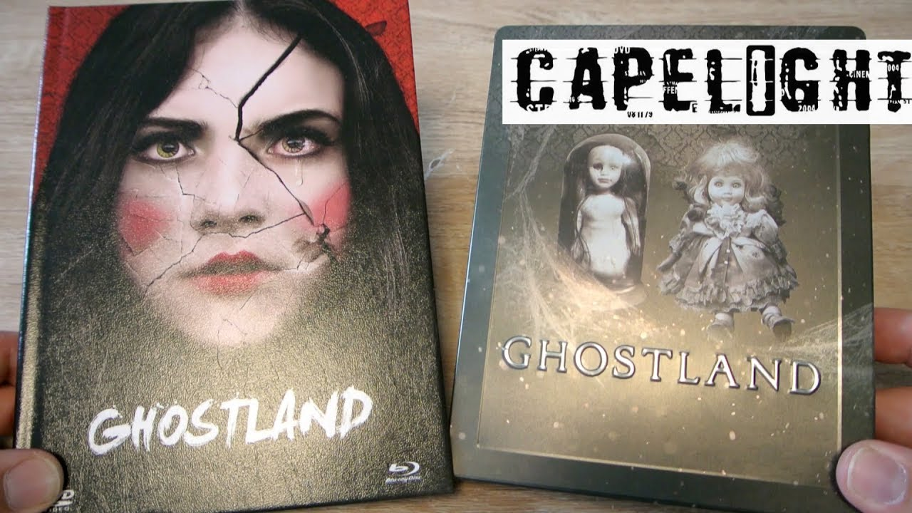 Download GHOSTLAND Blu-ray SteelBook · 2-Disc Limited Collector's Edition im Mediabook Capelight