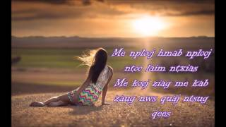 Hlub Tuag Nthi Girl Instrumental