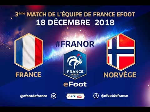 France vs Norvège – eFoot  (Replay)