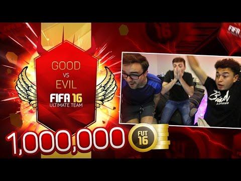 THE 1,000,000 COIN GOOD VS EVIL PACK!!!