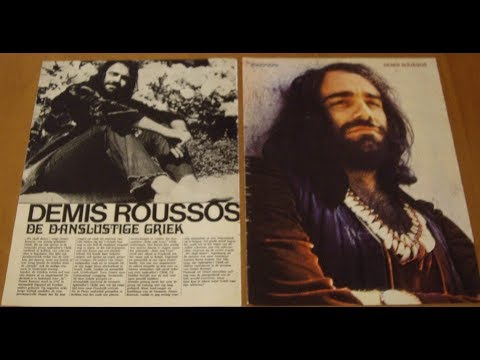"Demis Roussos - ""A thousand years of wandering"""