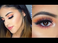 Peach Inspired Makeup Tutorial 2017 | Casey Vee