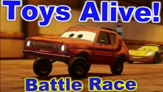 Cars 2: The video game ☆ GREM ☆ Battle Race on Pipeline Sprint