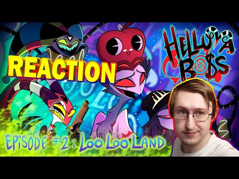 HELLUVA BOSS - Loo Loo Land // S1: Episode 2 | RUSSIAN REACTION