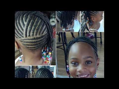 kids cornrows hairstyles black