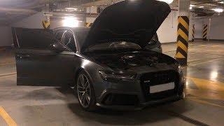Audi RS6 Булкина! Защитная плёнка на кузове , любимый авто , есть нюансы !
