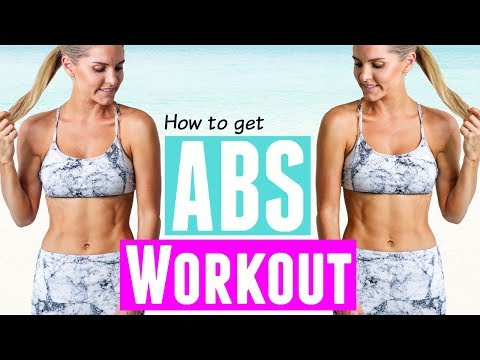How To Get Abs Workout   Rebecca Louise