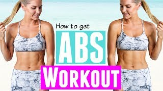 How to Get Abs Workout | Rebecca Louise