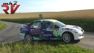 Rallye de Luxembourg 2014 Langenakens-Delvaux Mitsubishi Evo 8