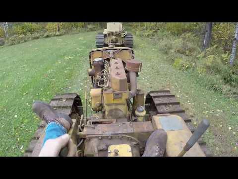 Caterpillar D2 #5J1113 - Freeing Up Stuck Steering Clutch