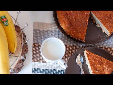 une-délicieuse-recette-un-gâteau-à-la-banane-et-aux-amandes
