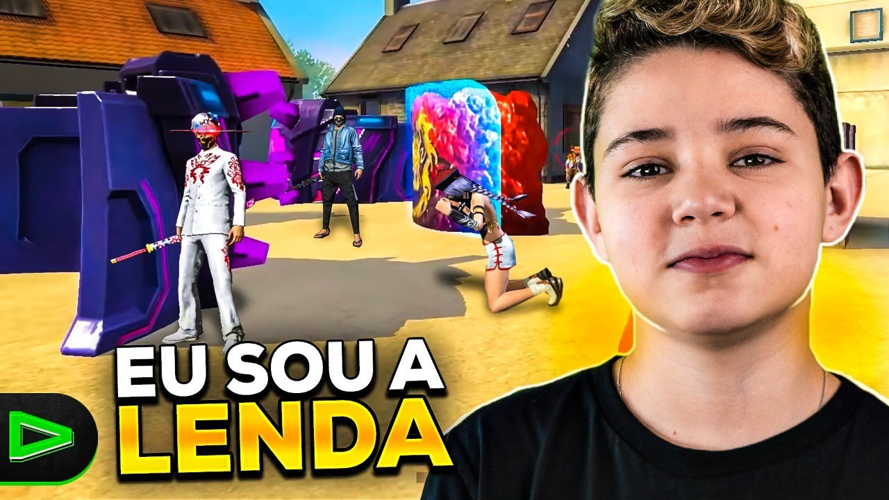 O GEL MAIS RÁPIDO DO FREE FIRE!!