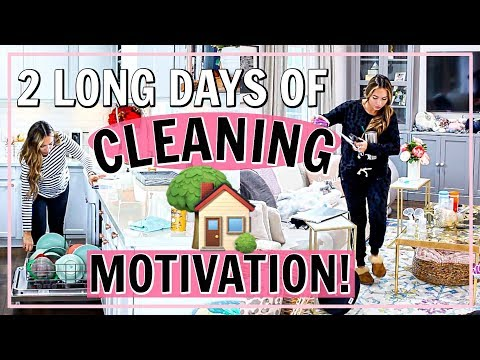 🏡2 DAYS OF ULTIMATE CLEANING MOTIVATION! ALL DAY HOUSE CLEANING! | Alexandra Beuter