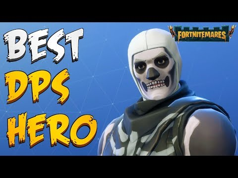 FORTNITEMARES - Best DPS Halloween Hero Using New Grave Digger (Perks And Gameplay)